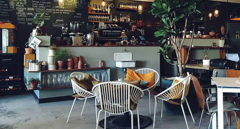 market a cafe